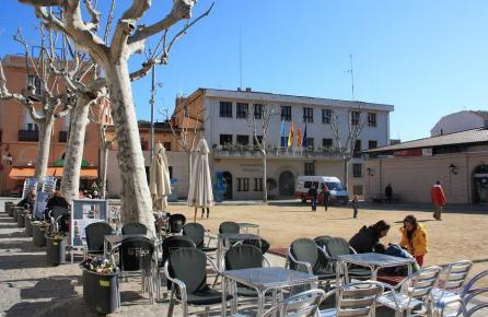 Plaça de l'Ajuntament d'Alella