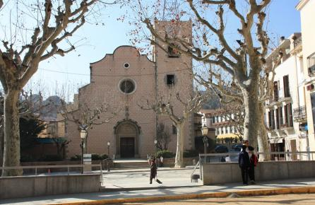 Plaza de la Iglesia de Arenys de Munt