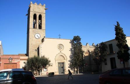 Plaça de l'Església d'Argentona