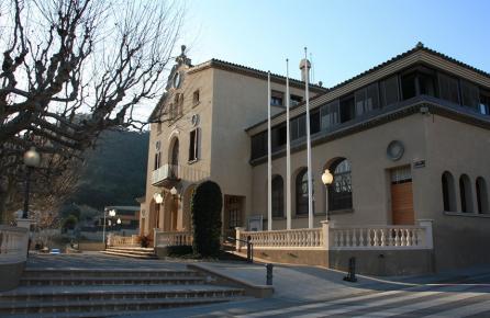 Plaça de l'Ajuntament de Cabrera de Mar