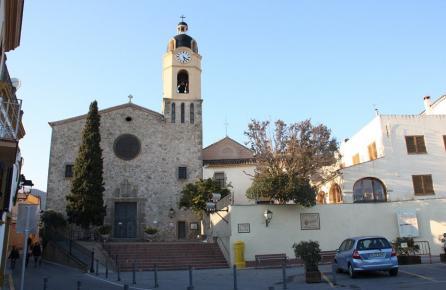 Plaça de l'Església de Cabrils