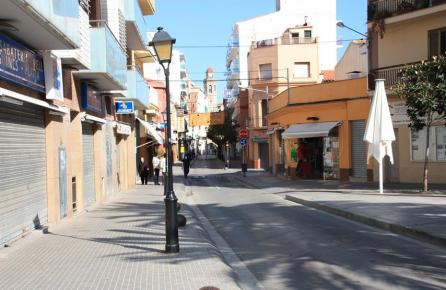 Centro urbano de Calella