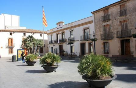 Plaza del Ayuntamiento de Calella