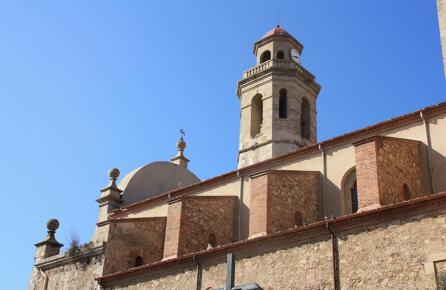 Vista de l'Església de Calella