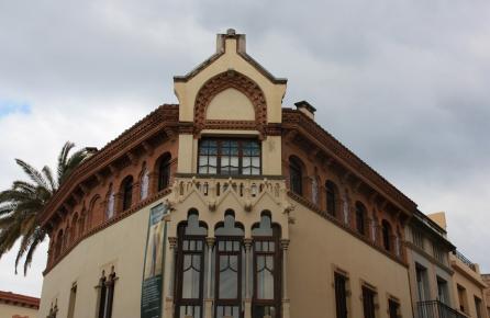 Fachada de la Casa Museo Domènech i Montaner Canet de Mar
