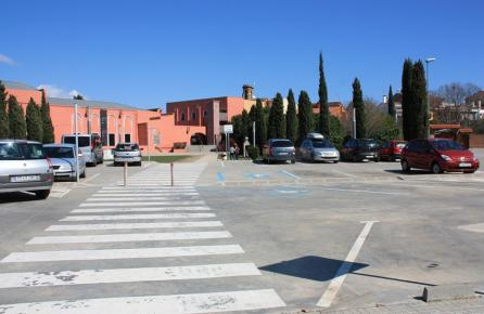 Vista del teatro de Palafolls
