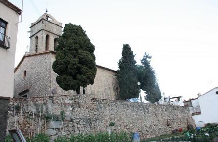 Vista de l'Església de Premià de Mar