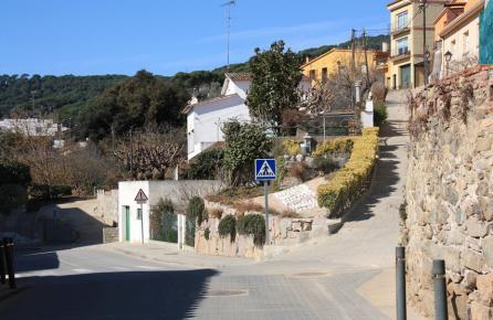 Vista de Sant Iscle de Vallalta