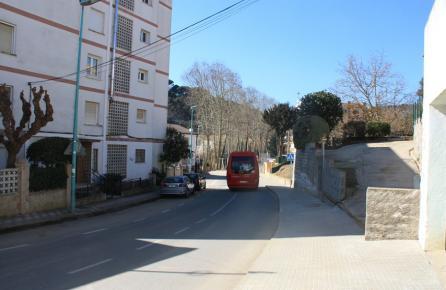 Carretera de Sant Iscle de Vallalta