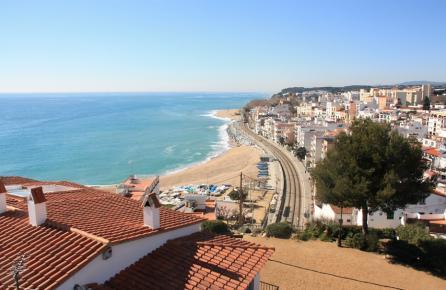 Vista panorámica de Sant Pol de Mar