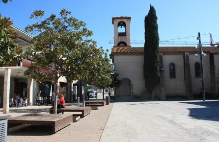 Vista de l'Església de Santa Susanna