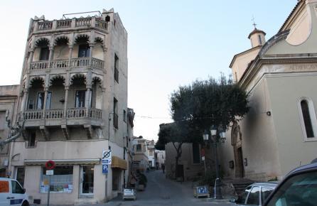 Calle en el centro urbano de Vilassar de Dalt