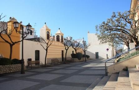 Entrada a l'església de Sant Joan de Vilassar de Mar