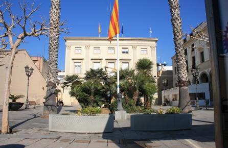 Plaça de l'Ajuntament de Vilassar de Mar